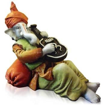 Ganesha playing Guitar