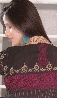 Dress Material Crepe Designer Prints Unstitched Salwar Kameez Suit D.No SJ1104