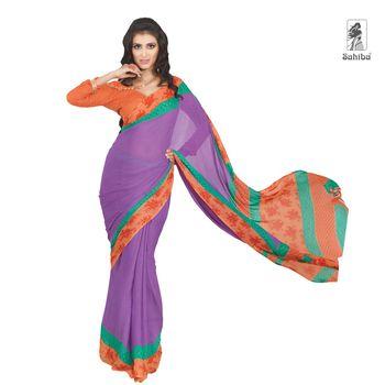 Party Wear Sari Kaju4706