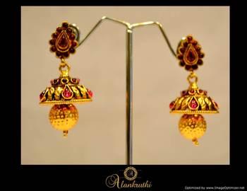 Temple Jewellery - Jhumka 2