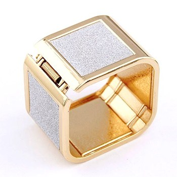 Golden Touch Square Bangle