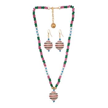 Beads fashion necklace set