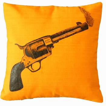 Staggering Bandook Cushion Cover