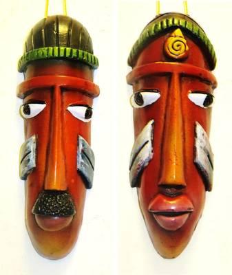 Teracotta Tribal Pair