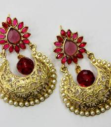 Buy ANTIQUE GOLDEN PEARLS HANGINGS fashion-deal online