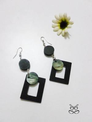 Fashion Earrings - Black