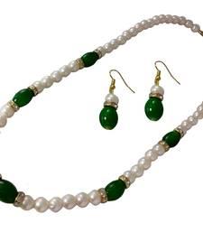 Buy Handmade Paper Jewellery necklace-set online