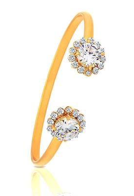 Just Women Sophisticated Swarovski Crystal Flower Bracelet