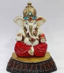 Buy Modak ganesh resin material multicolour dummy online