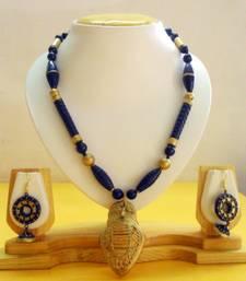 Buy Terracotta Dhokra Jewellery Set terracotta-jewelry online