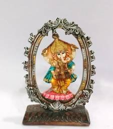 Buy Dancing Ganesha Resin Material Multicolor religious-item online