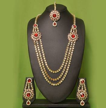 Tv Serial Kundan Necklace Set
