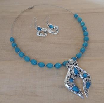 Ethnic Blue Set