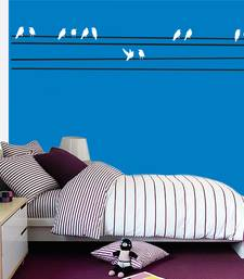 Buy Birds on wire- two color wall-decal online