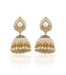 Buy Royal Bling ethnic Pearl Studded Traditional Jhumki For women-CFE0455 fashion-deal online
