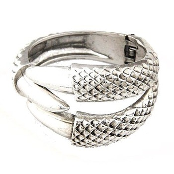 Silver Claw Bangle