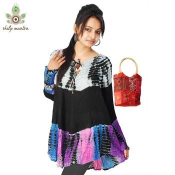 New Designer Beautiful Ethnic Bollywood Style Tunic Tops Kurta Kaftan Kurti