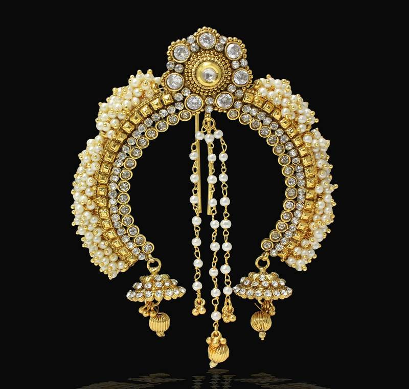 Buy Pearl Amp Stone Design Indian Wedding Designer Hair Pin