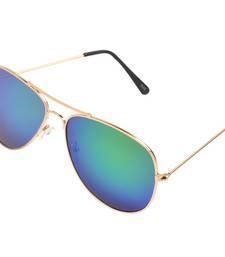 Buy Blue Reflector Aviators sunglass online