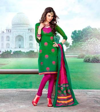 Elegant Embroidered Unstitched Dress Material D.No S1506