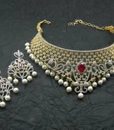 Buy American Diamonds Necklace Sets Online