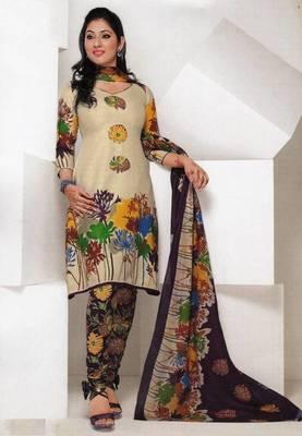 Dress material cotton designer prints unstitched salwar kameez suit d.no 1812