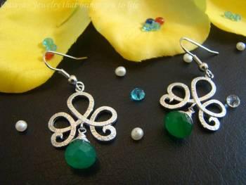 Green Beauty Earrings