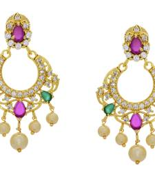 Buy BEAUTIFUL AMAZING LIGH WEIGHT CHANDBALI danglers-drop online