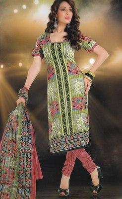 Elegant designer Lawn coton unstitched dress material D.No. BC4005