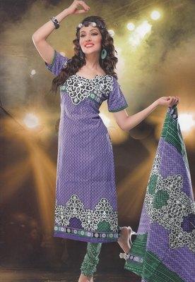 Elegant designer Lawn coton unstitched dress material D.No. BC4014