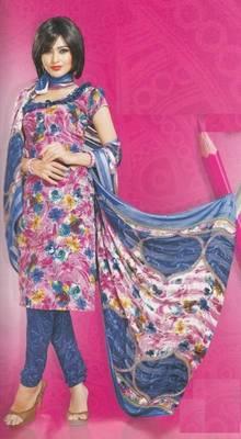 Dress Material Crepe Designer Prints Unstitched Salwar Kameez Suit D.No AP904
