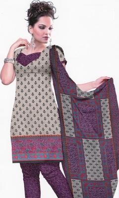Dress material crepe designer prints unstitched salwar kameez suit d.no U507