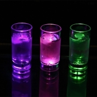 LED shooter glass