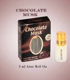 Buy AL NUAIM CHOCOLATE MUSK 3ML ROLL ON gifts-for-him online