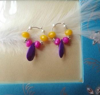 cute baali pink, yellow,and purple