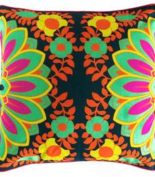 Buy Blooming Mint Green Flower Cushion Cover diwali-home-decor online