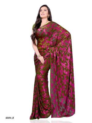 Gracious Casual Wear Saree by DIVA FASHION- Surat