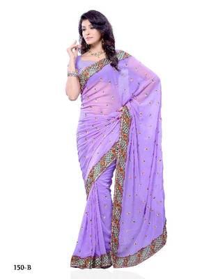Enticing Festival/Party Wear Designer Saree by DIVA FASHION- Surat