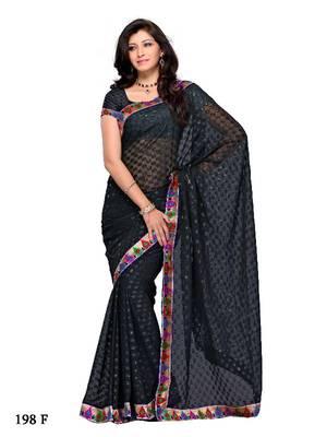 Affinitive Festival/Party Wear Designer Saree by DIVA FASHION- surat
