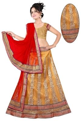 chiku Indian Traditional Designer lehenga.