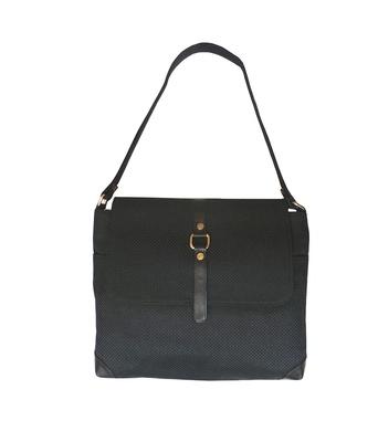 Officio Jute Handbag (Black)