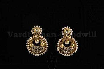 royal looking earrings