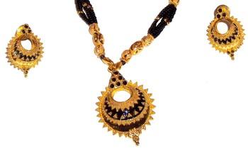 Assamese Jewellery Keru-Black