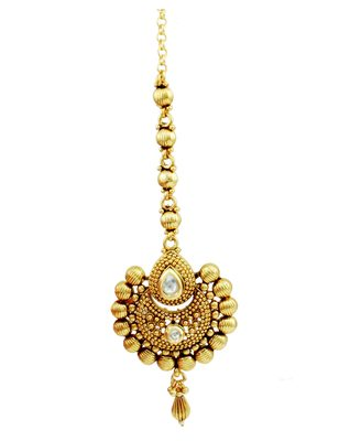 Clear Traditional Maang Tika Jewellery for Women - Orniza