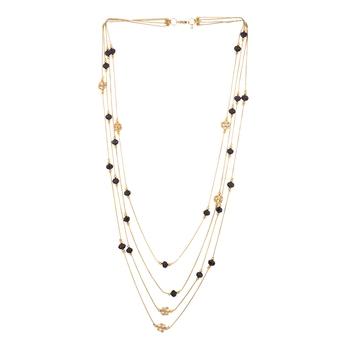 Black Stars Multilayer Necklace