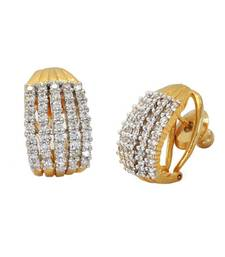 Buy designer American diamond earrings diwali-jewellery online