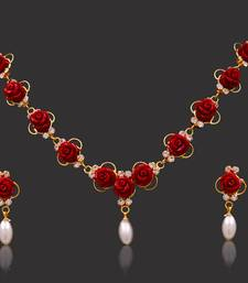 Buy NATURAL FRESH WATER PEARLS SETS necklace-set online