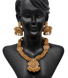 Buy Traditional Temple necklace-set online