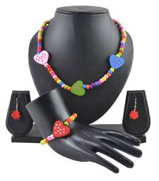 "Buy ANGEL GLITTER Gifts for Kids ""Colorful Little Hearts"" 4-piece Jewellery Set gifts-for-kid online"