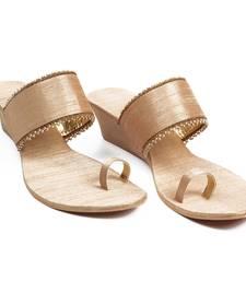 Buy Gorgeous Golden Wedges footwear online